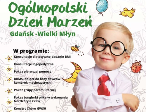 Zaproszenie na VIII Ogólnopolski Dzień Marzeń w Trójmieście